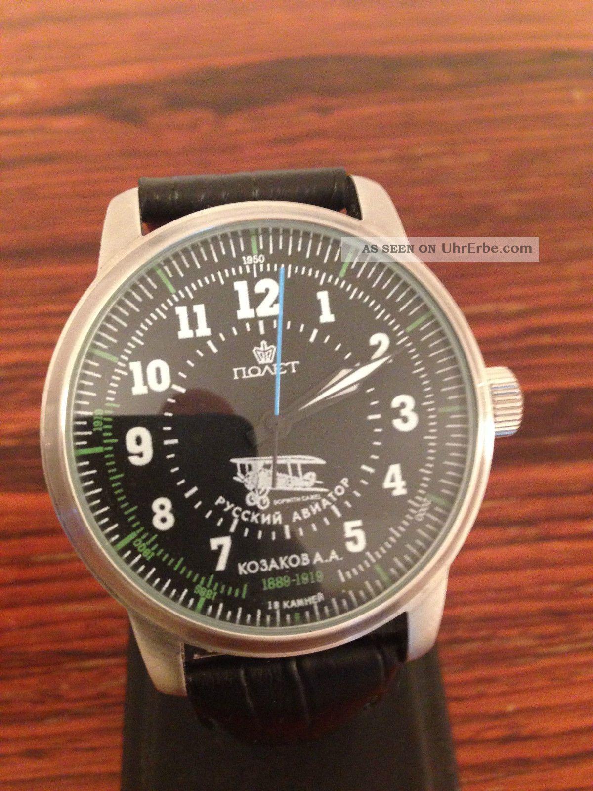 Poljot Aviator Ohne Etiket Armbanduhren Bild