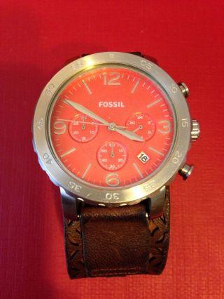 Fossil Damen Armbanduhr Braun Bild