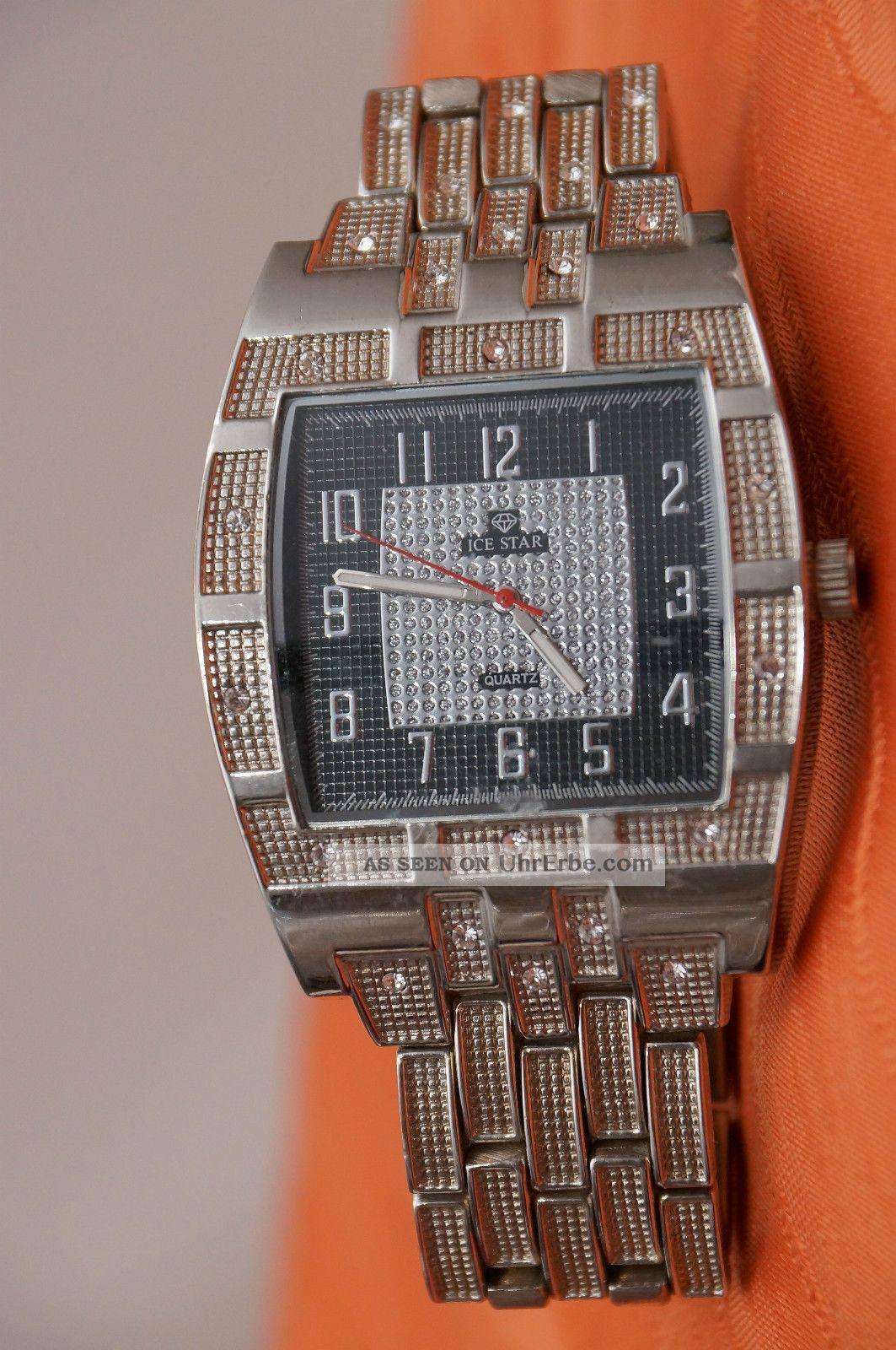 Ice Watch Ice Star Damenuhr / Herrenuhr Und Edel Hip Hop Uhr Armbanduhren Bild
