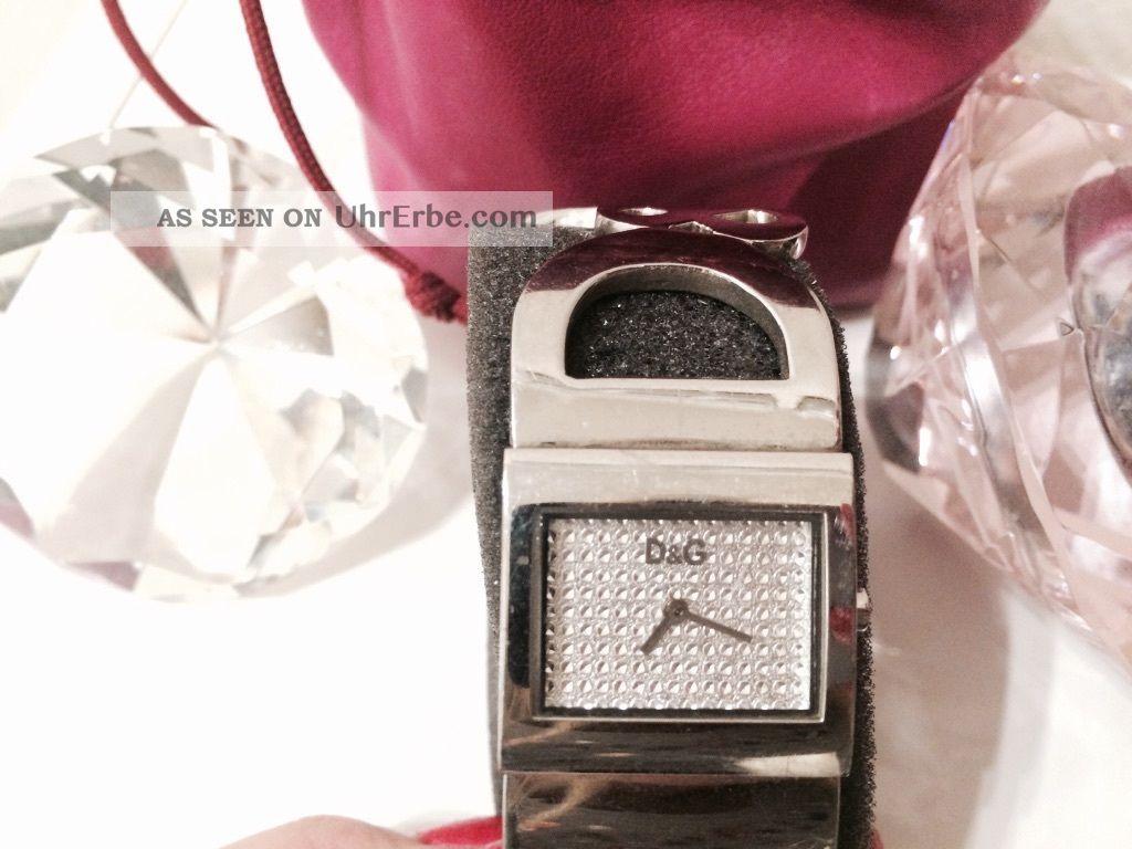 Dolce & Gabbana D&g Damen Armbanduhr Silber Armbanduhren Bild