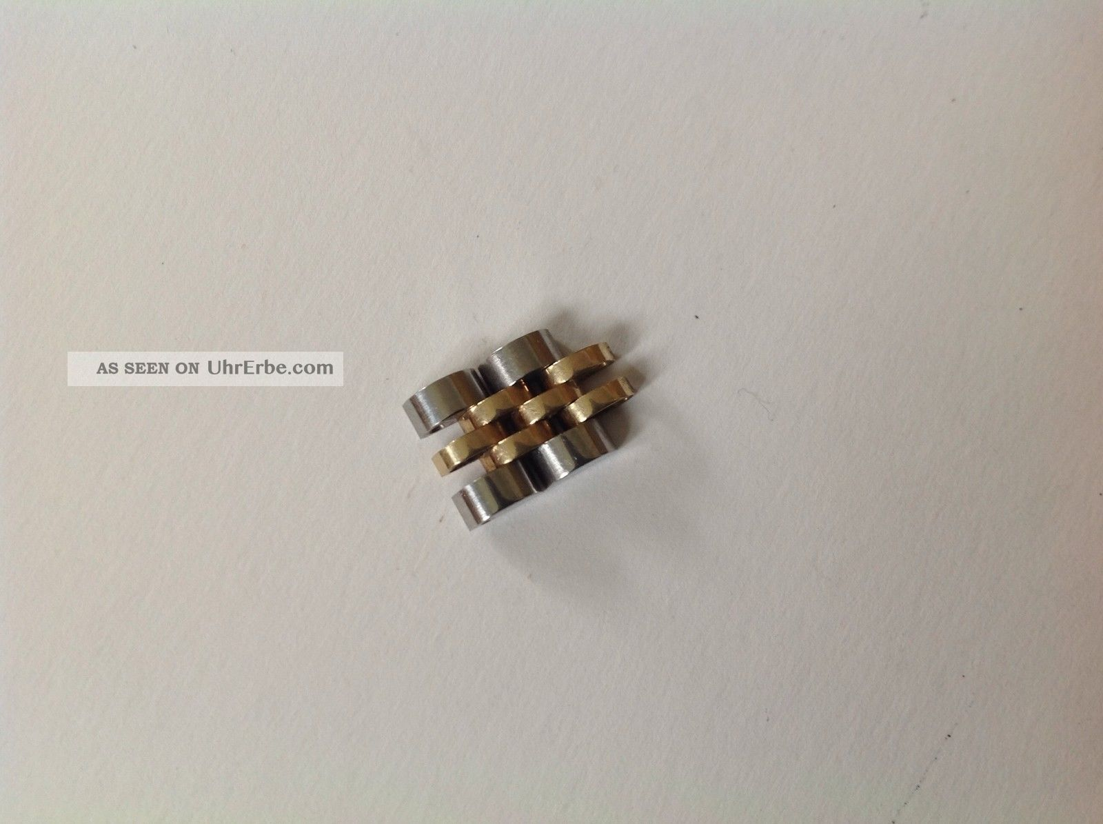 2 X Damen Rolex Ersatzglied Stahl/gold Armbanduhren Bild