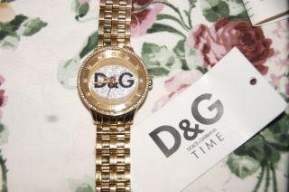 Dolce Gabbana Time Uhr Gold Unisex Blogger Bild