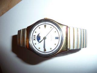 Swatch Armbanduhr Nr.  2263 Mit Flexband Bild