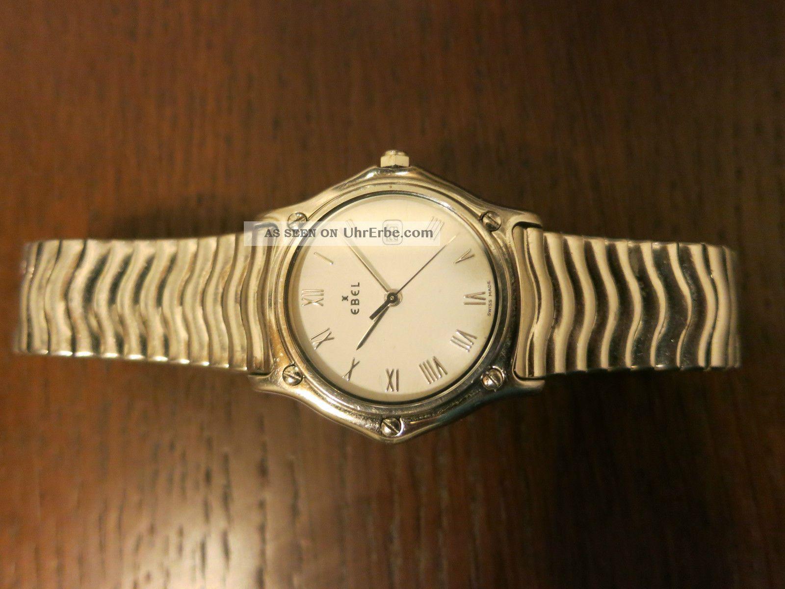 Ebel Sport Classic Wave Watch Uhr 9087132 Armbanduhren Bild