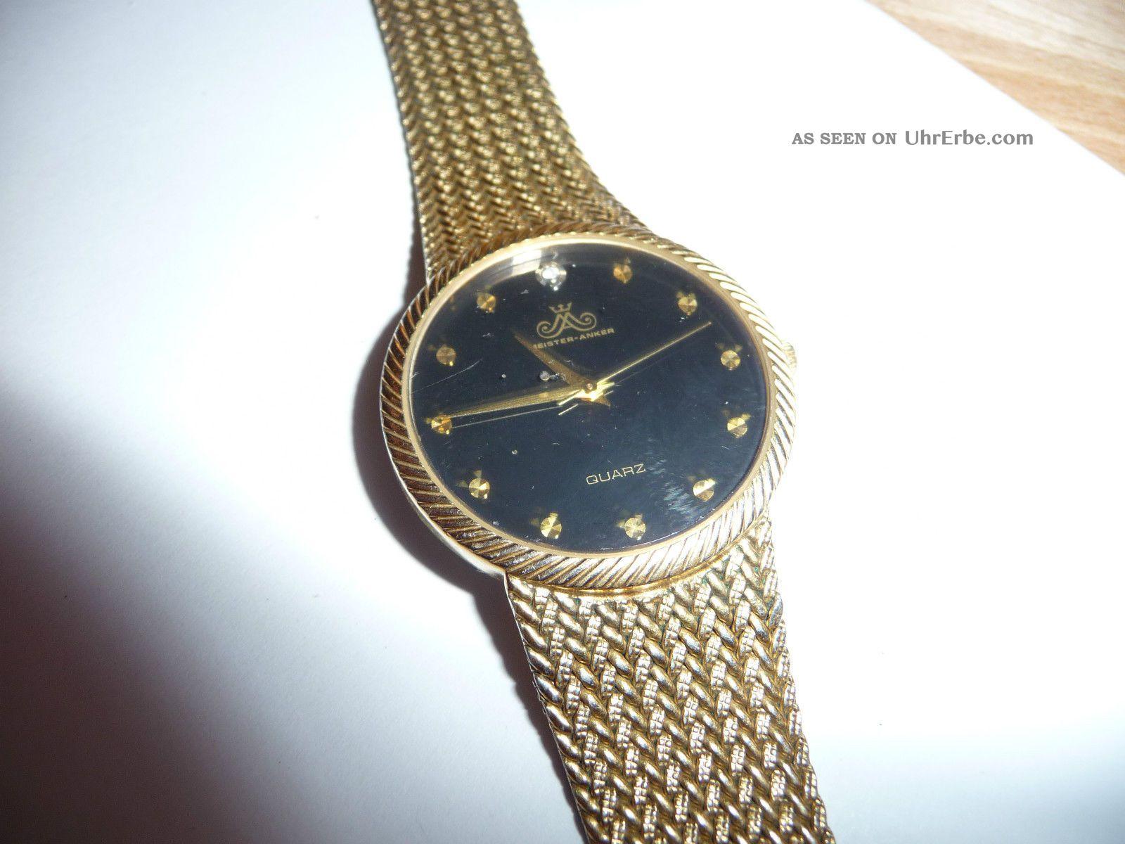 Armbanduhr Meister - Anker 937/820 - 9/10 Armbanduhren Bild