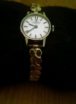 Junghans Uhr 17 Jewels In Silber Bild