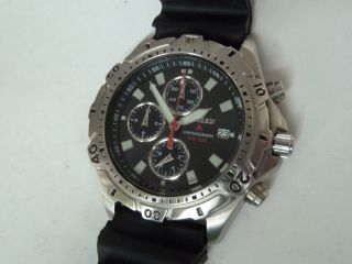 Sport Diver Taucheruhr Citizen Promaster Chronograph Black Edition Bild