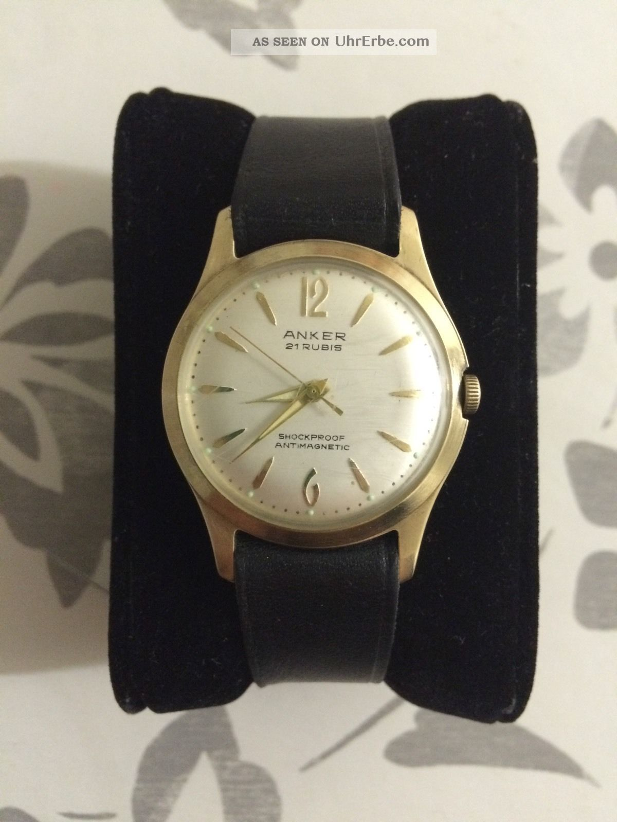Anker Handaufzug 21rubis (lagersteine) Top Armbanduhren Bild
