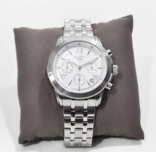 Esprit Es900751003 Chronograph Armbanduhr Watch Chrono Herren/damen Silber Uhr Bild
