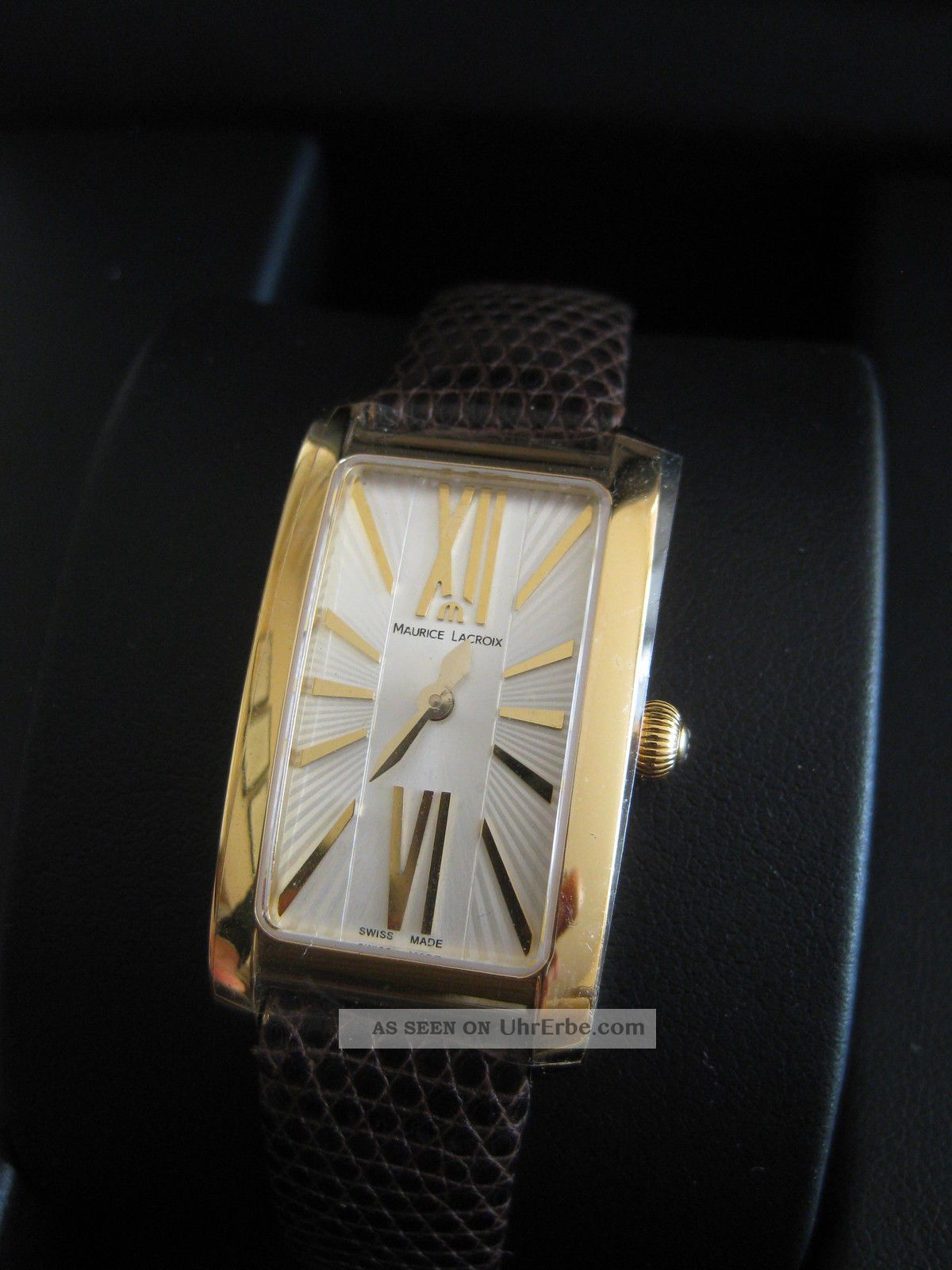 Maurice Lacroix Damenuhr,  Modell Fiaba,  Elegant,  Und Ungetragen,  M.  Papieren Armbanduhren Bild
