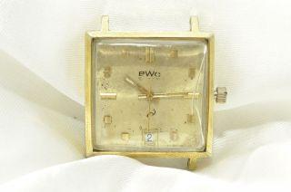 Alte Bwc Armbanduhr,  Mechanisch,  Handaufzug Bild