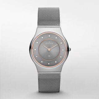 Skagen Designs Damen - Armbanduhr Skw 2081 - Edelstahlarmband - Bild