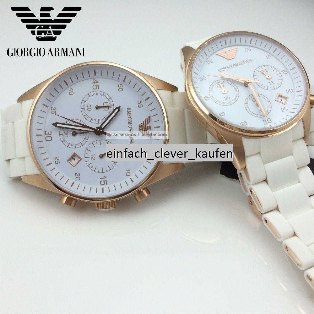 Armani Ar5920 Damenuhr Uhr Armbanduhr Armbanduhren Bild