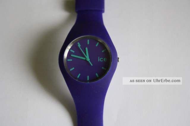 Ice Watch Slim Armbanduhr Violett Armbanduhren Bild