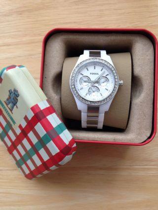 Fossil Es2807 Stella Damen - Armbanduhr Bild