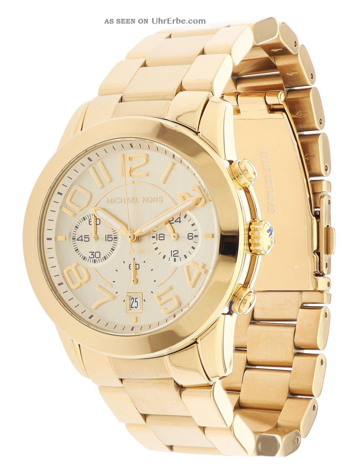 Michael Kors Damen Armbanduhr Gold Mk5726 Armbanduhren Bild