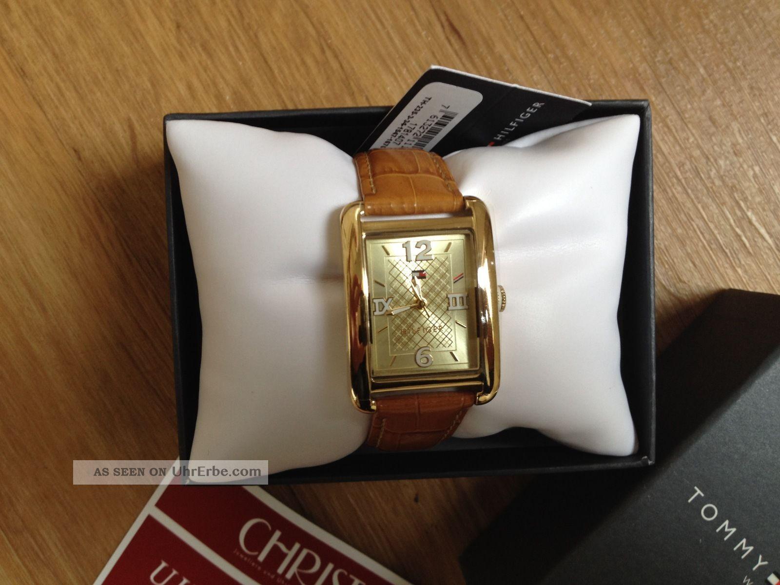 Tommy Hilfiger Armband - Uhr Emmie Gold / Camel / Braun Armbanduhren Bild