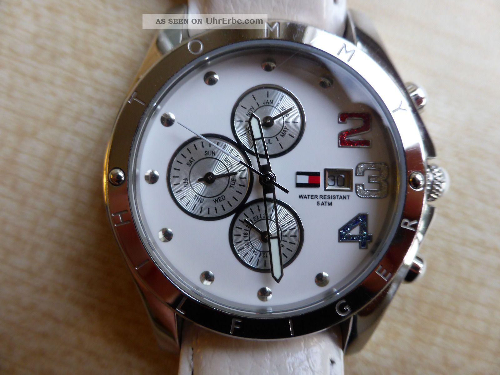 Tommy Hilfiger Sport Luxury Moab Armbanduhr Für Damen (1780931) Armbanduhren Bild