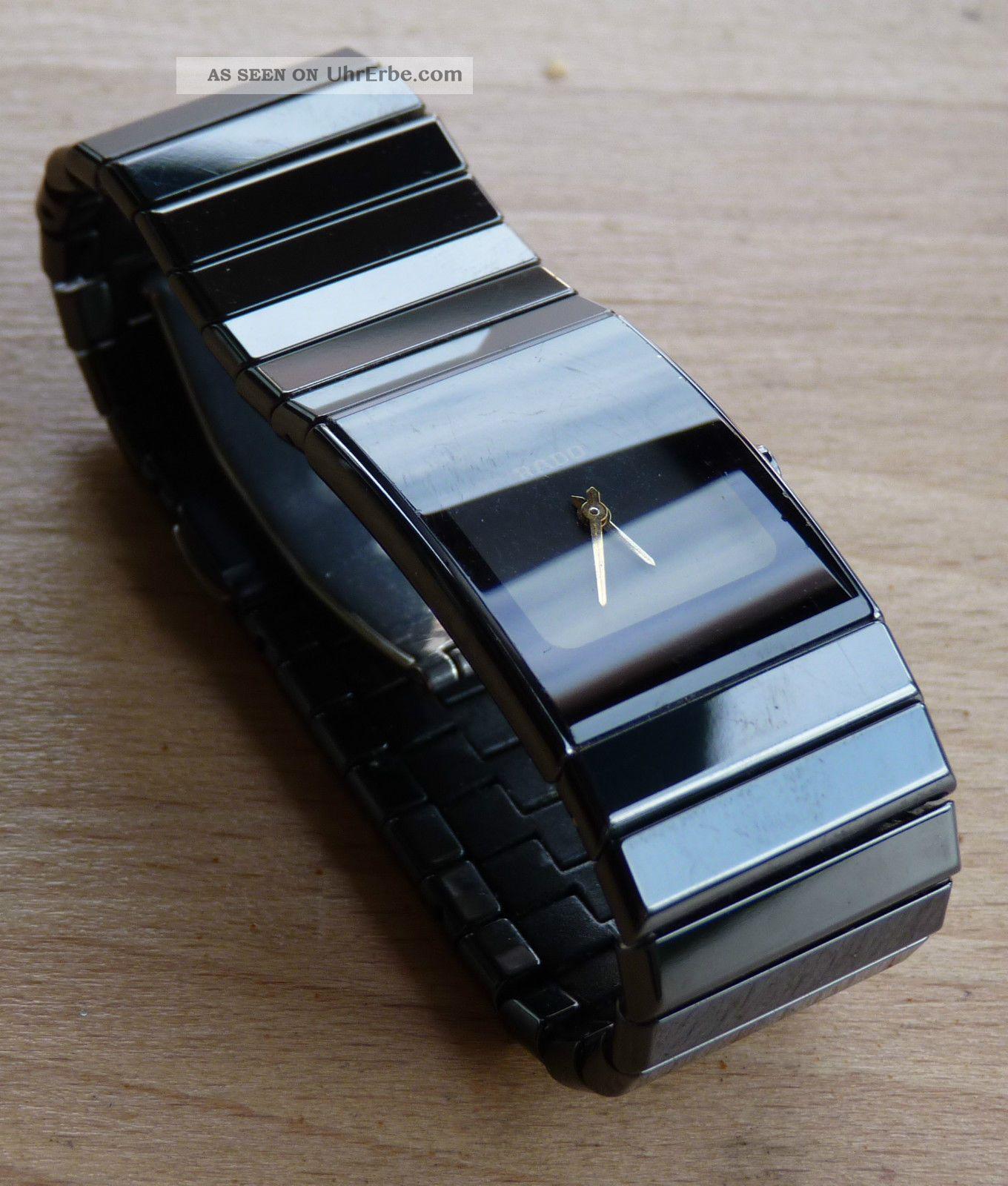 Rado Diastar Ceramics Damenarmbanduhr Armbanduhren Bild