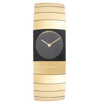 Jacob Jensen Arc 583 Titan Vergoldet Armbanduhr Für Damen Bild