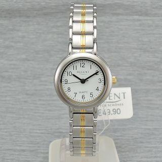 Damenuhr Regent 78503099 Quarz Damenarmbanduhr Quarzuhr Bi - Color Bild