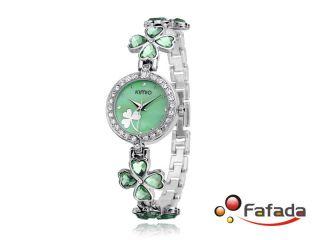 Kimio Damen Armbanduhr Damenuhren Quarz Uhren Uhr Mit Strass Analog Bild