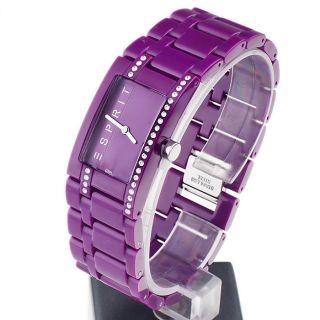 Esprit Damen - Armbanduhr Houston Funky Star Purple Analog Quarz Bild