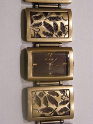 Fossil Damenuhr - Kaum Getragen - Extravagent Modische Uhr Bild