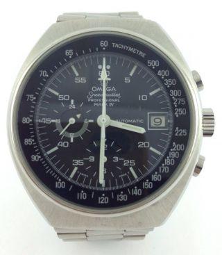 Omega - Speedmaster - Armbanduhr - Mark 4 - Chronograph - Automatik - Day Date Bild