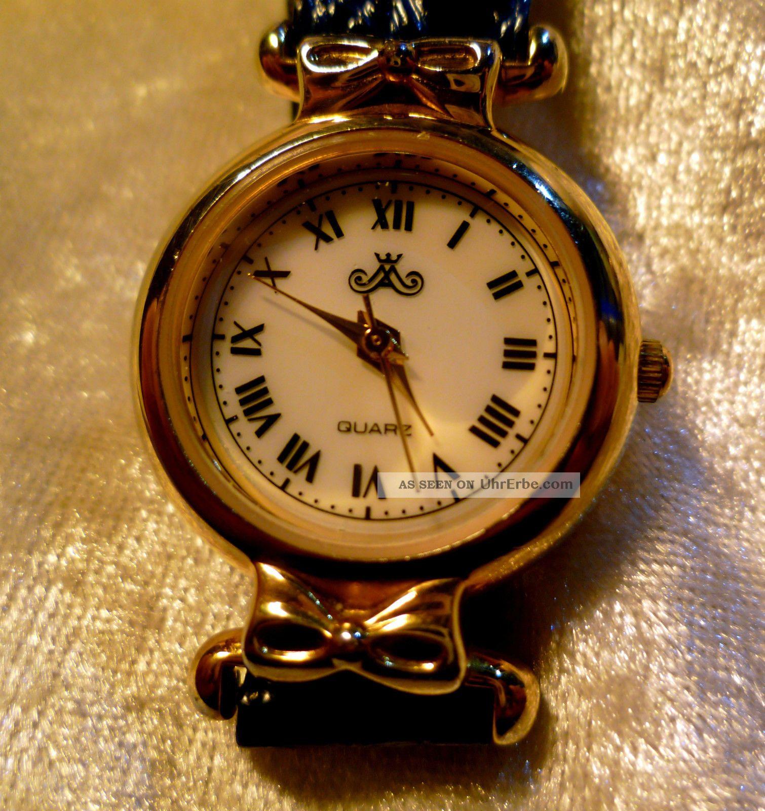 meister anker damen leder armband uhr 809 181 1 109 vintage erbst ck von oma. Black Bedroom Furniture Sets. Home Design Ideas