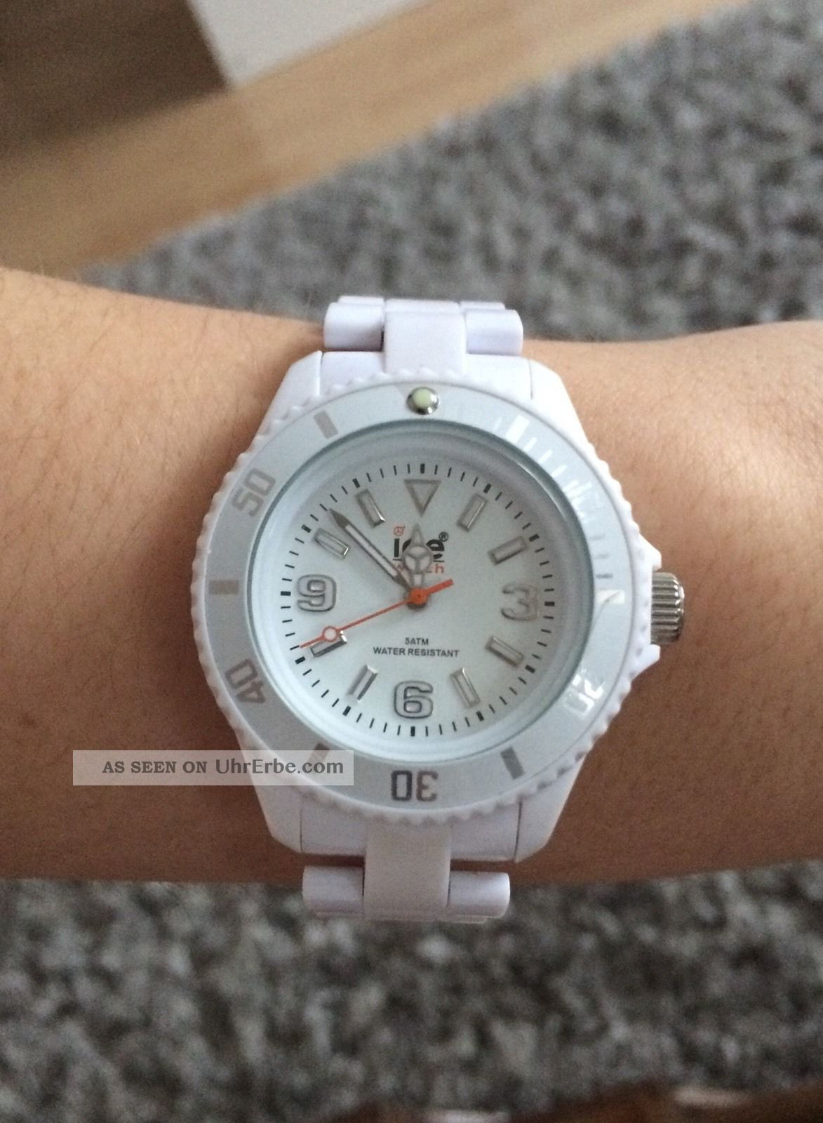 Ice Watch Damen Weiß Armbanduhren Bild