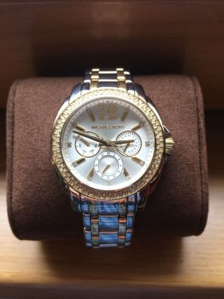 Michael Kors Mk5693 Damenuhr,  Watch,  Gold,  Silber, Bild