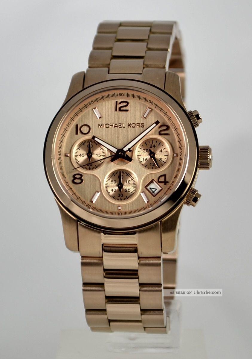 Michael Kors Damenuhr Mk5128 Armbanduhren Bild