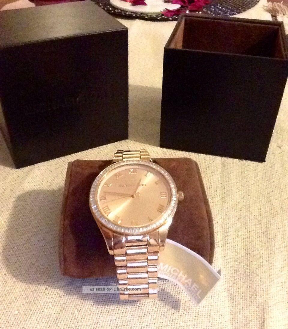 Michael Kors Uhr Rosé Armbanduhren Bild