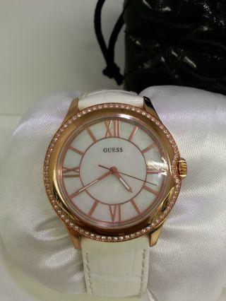 Guess Uhr W10267l1 Damenuhr Rosegold Bild