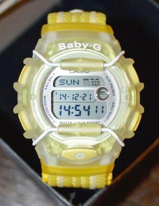 Casio Baby - G 10th Anniversary Damen/kinder Zitronengelb Bg - 1003an - 9er Bild