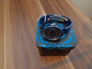 Esprit Damenuhr Marin Aluminium Armbanduhr Dunkelblau Es105812007,  Uvp: 120,  00€ Bild