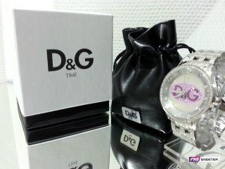 D&g Dolce & Gabbana Prime Time Armband - Uhr Dw0848 Pink Bild