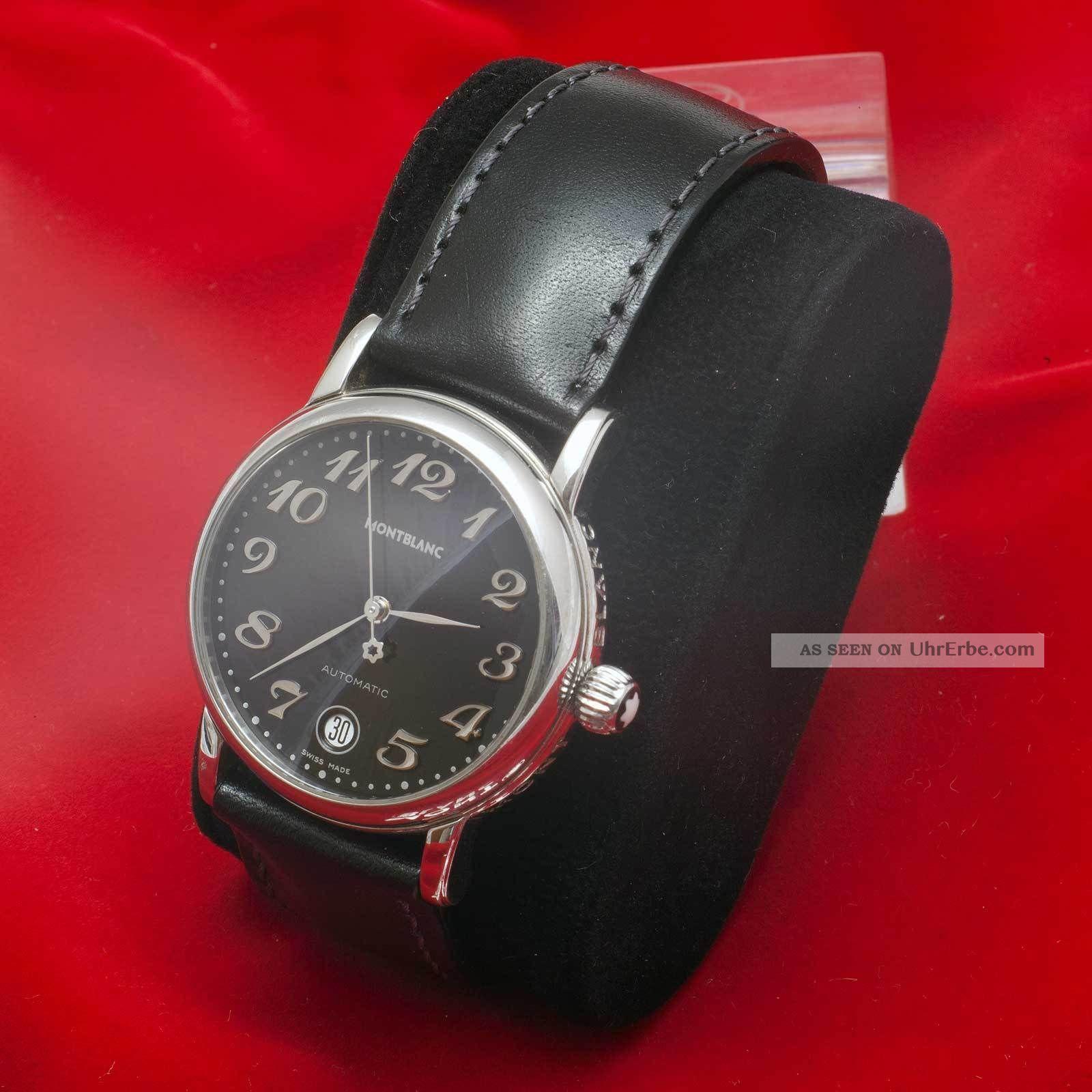 montblanc meisterst ck automatic herren damen uhr watch 36mm. Black Bedroom Furniture Sets. Home Design Ideas