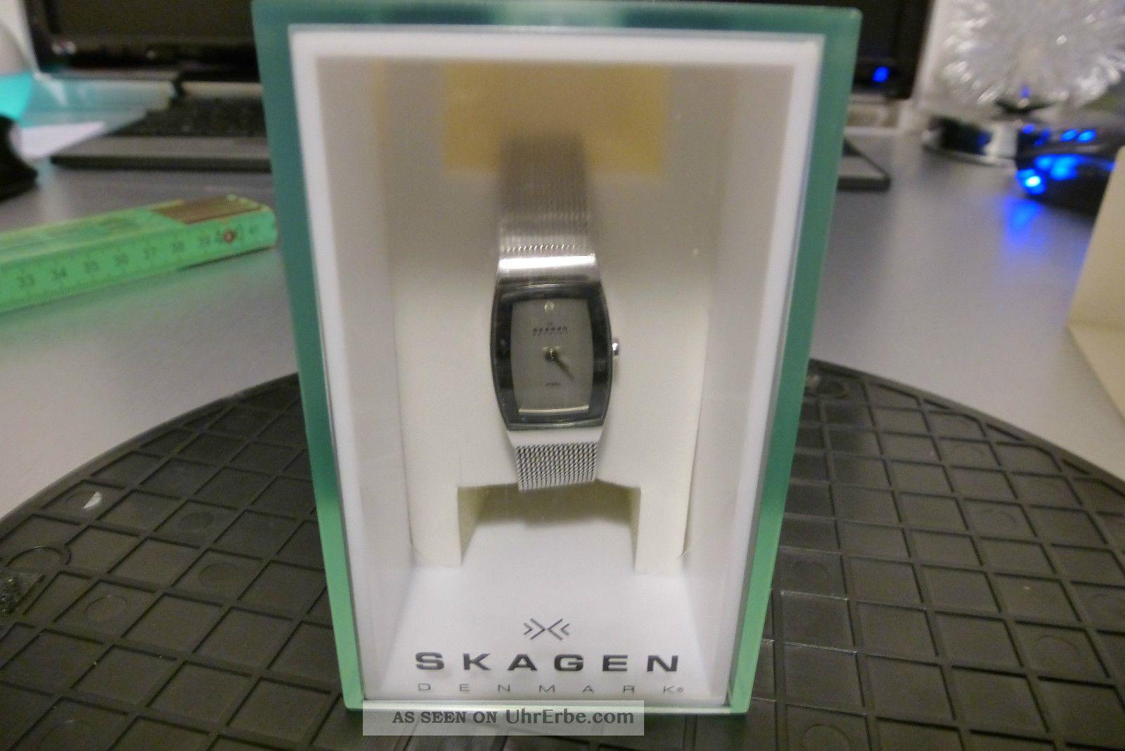 Skagen 271 Sssd Damenuhr 271sssd Armbanduhren Bild