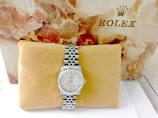Rolex Date Just Medium Chronometre - Stahl Von August 2001 Bild