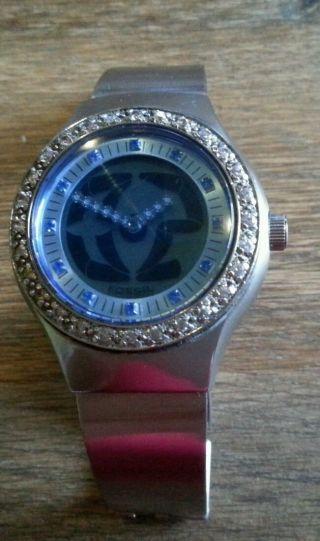Fossil Damen Armbanduhr Silber Bild