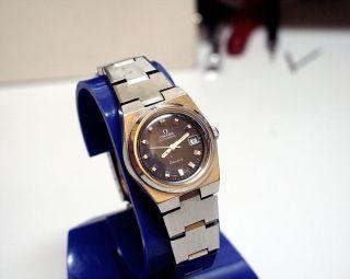 Omega - Geneve - Damen - Automatic - Uhr Mit Datumsanzeige Bild