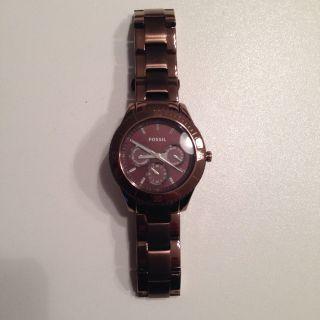 Fossil Damen Armbanduhr Edelstahl Bild