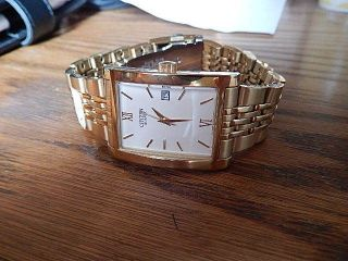Armbanduhr Citizen Quarz (goldfarbend) Bild