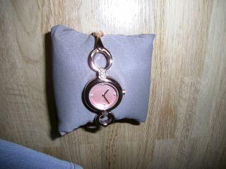 Uhr Von Esprit Stahl Rotgold,  Rosa Ziffernblatt Bild
