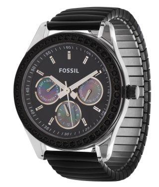 Fossil Damen Armbanduhr Schwarz Es2954 Bild
