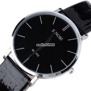 Herren Damen Quarz - Kristall - Kleid - Art - Edelstahl - Armbanduhr - Geschenk Fashion Bild