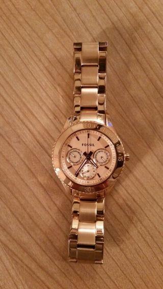 Fossil Stella Es2859 Armbanduhr Für Damen Bild