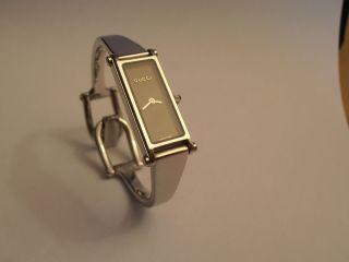 Gucci Damen - Armbanduhr 1500l Incl.  Originalbox,  Papieren.  Wunderschön Bild